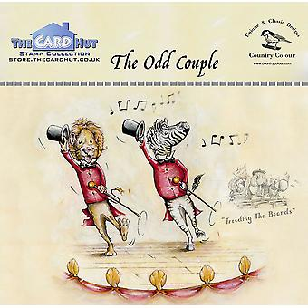 The Card Hut The Odd Couple Clear Stamps