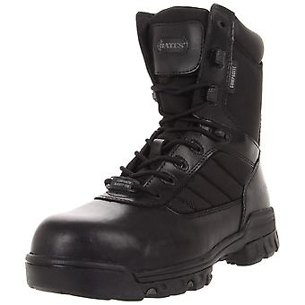 "Bates Mens 8"" Tactical Sport Leather Composite toe Zipper Safety Shoes"