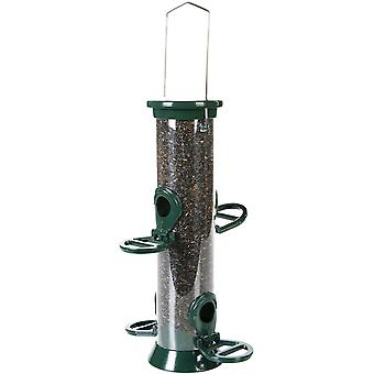 CJ Defender - Metal Nyjer Feeder - Green 4 Port - Small (20cm)
