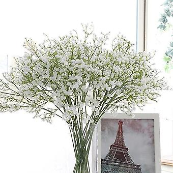 Artificial Baby's Breath Flower Gypsophila Fake Silicone Plant For Decoration