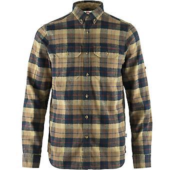 Fjallraven Singi Heavy Flannel Shirt - Navy