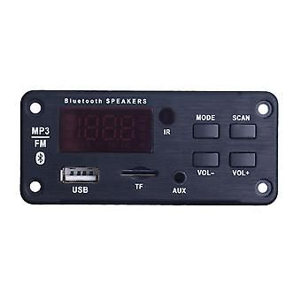 Bluetooth Mp3 Wma Decoder Board - 12v Fm Wirelss Audio Module