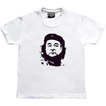 Che Brian Clough White Kids' T-Shirt