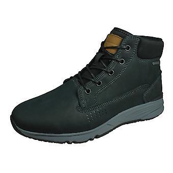 Hi-Tec X-Hail Mid Lux WP Mens Leather Hiking Boots - Black