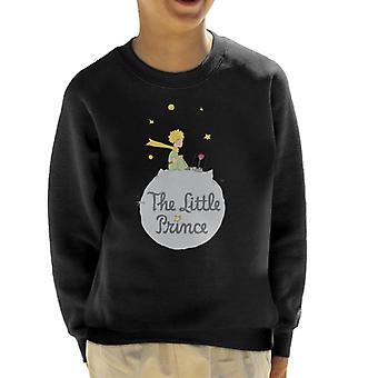 The Little Prince Asteroid Logo Kid's Sweatshirt