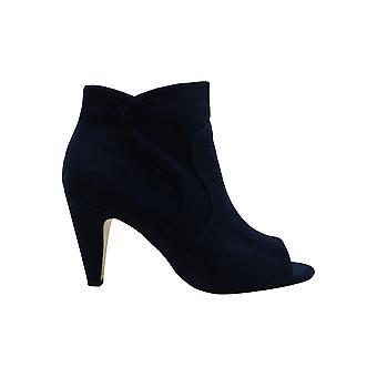 Bella Vita Women's Schoenen Noah Ii Suede Peep Toe Ankle Fashion Boots