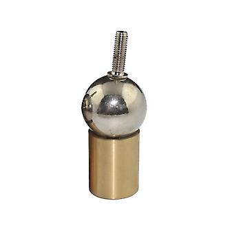 Printer Socket Connection Steel Ball Brass Rod End With Thread Hole Permanent Universal Magnetic Joint