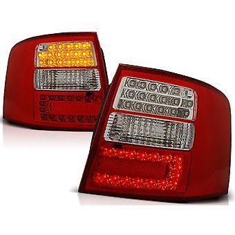 Achterlichten AUDI A6 05 97-05 04 AVANT ROOD HELDER LED