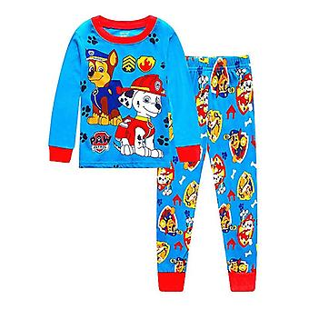Pajama Dinosaur Print, Sleepwear For Kid Nightwear Set-2