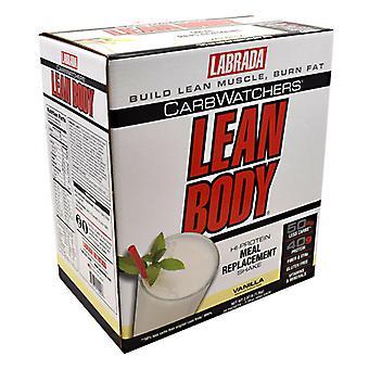LABRADA NUTRITION Lab Lean Body Lo Carb Vanilla, 20 CT