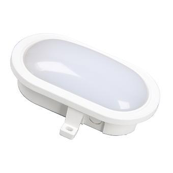 Byron GOL-001-HW LED Oval Bulkhead White 5.5 Watt 550 Lumen BYRGOL001HW