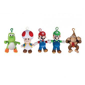 """Super Mario 6"""" Clip de bolsa (surtido, uno suministrado)"""