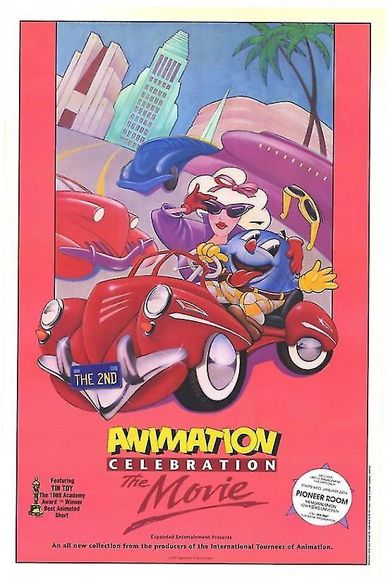 Animation Celebration Movie Poster Print (27 x 40)