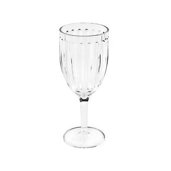 What More Roma Wine Goblet Clear Acrylic 20555