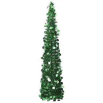 vidaXL Artificial pop-up árbol de Navidad Verde 150 cm PET