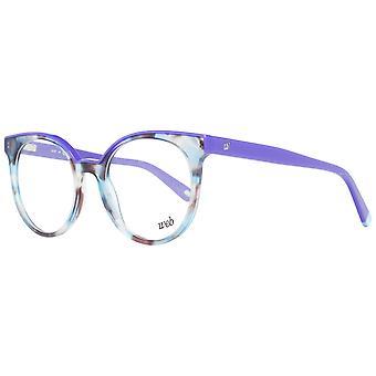 Quadros ópticos multicoloridos femininos