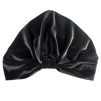 Turban stretch catifea