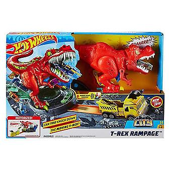 Launcher Track T-Rex Rampage Hot Wheels
