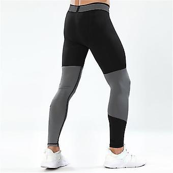 Sportowe elastyczne legginsy w talii