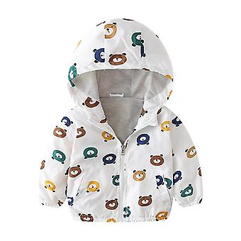 Manteau à capuchon Autumn Kid Jacket, Outerwear Clothe, Spring Windbreaker