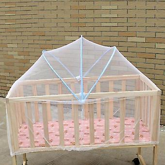 Baby Cradle Bed Mesh Mosquito Nets Foldable Summer Baby Arched Crib Netting
