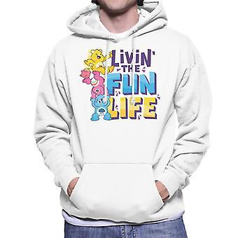 Care Bears Lås upp Magic Livin Det roliga livet Män&apos,s Hooded Sweatshirt