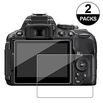 Výherné sklo pre nikon d5300 d5500 d5600, chránič obrazovky fotoaparátu proti poškriabaniu temperované glas (2