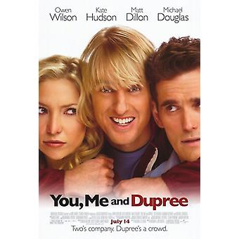 Minulle ja Dupree elokuvan juliste (11 x 17)