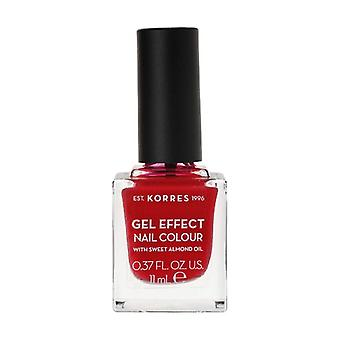 Nail polish Sweet almond 51 Rosy Red 11 ml