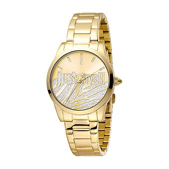 Just Cavalli Women's Firma Champagne Dial Stainless Steel Watch
