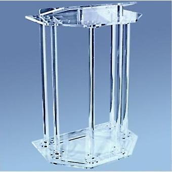 Clear Acrylic Podiums Pulpit For Church Classroom Lectern Podium Acrylic Church