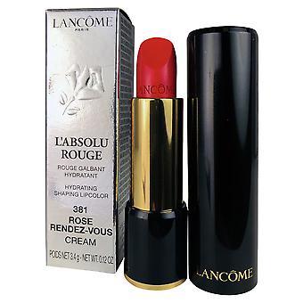 Lancome l'absolu rouge 381 rose rendez-vous lip kleur 0.12 oz