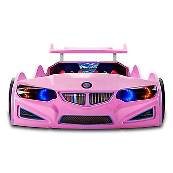 Car Bed - Racing Kids Bed With 4 Functional Real Car Sounds, Headlights, Remote