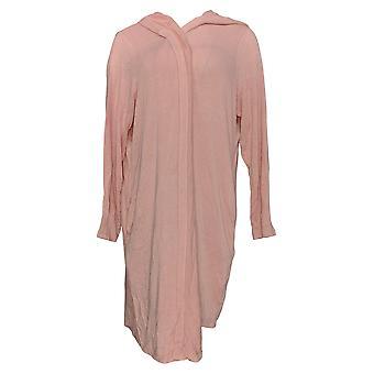 Anyone Women's Sweater Brushed Hacci Wrap Cardigan Pink A345302