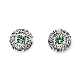 Oliver Weber Stud Earring Eigen Rh Emerald