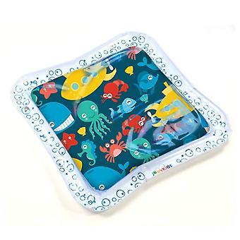 Tapis de jeu d'eau de bébés enfants - bébé gonflable Tummy Time Playmat