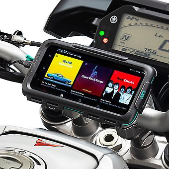Galaxy s10 s10+ waterproof motorcycle case handlebar mount