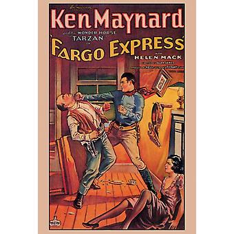 ファーゴ エクスプレス映画ポスター印刷 (27 × 40)