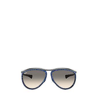 Ray-Ban RB2219 ryppyinen sininen ruskea unisex aurinkolasit