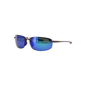Maui Jim Ho'okipa Reader B807 1115 Translucent Smoke Grey/Blue Huwaii + 1.50 Sunglasses