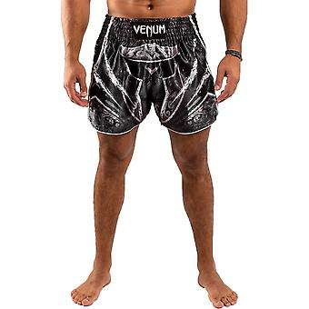 Venum Gladiator 4.0 Muay Thai Shorts Zwart/Wit