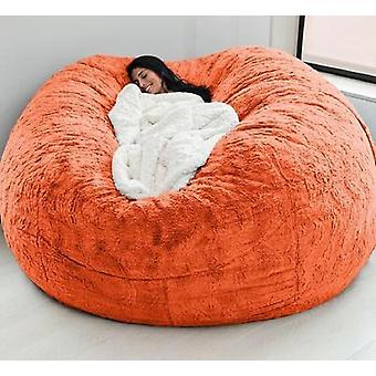Soft Bean Bag Sofa Cover Living Room Furniture Party Leisure Giant Round Fluffy