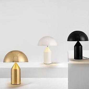 Moderne tafellamp, champignonlicht, slaapkamerbed, Art Deco, Woonkamer,