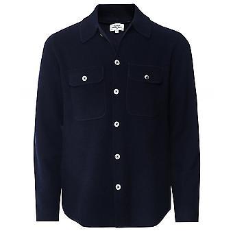 Hartford Merino Wool Button-Through Jacket