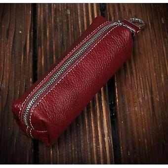 Cow Leather Men/women Key Bag