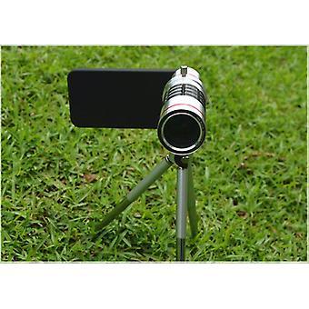 18x Zoom alumínium kézi fókusz teleobjektív kamera