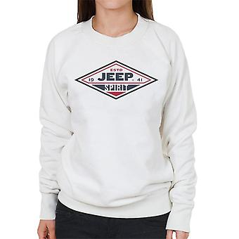 Jeep Estd 1941 Spirit Logo Women's Sweatshirt