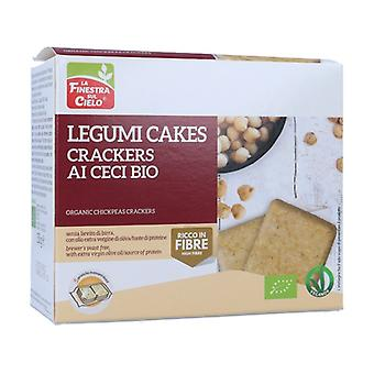 Legumicake-Organic chickpea crackers 250 g