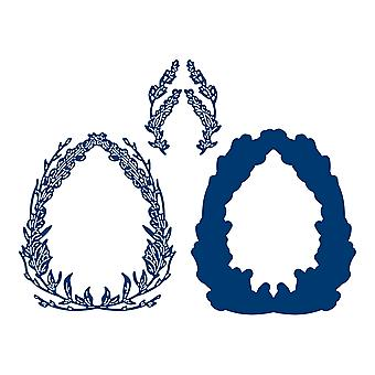 Tattered Lace Easter Wreath Die Set
