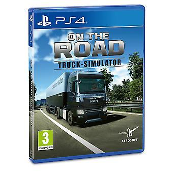 Unterwegs Lkw Simulator PS4 Spiel